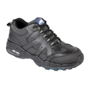 4041 Black Mens Air Bubble Safety Trainer Shoe